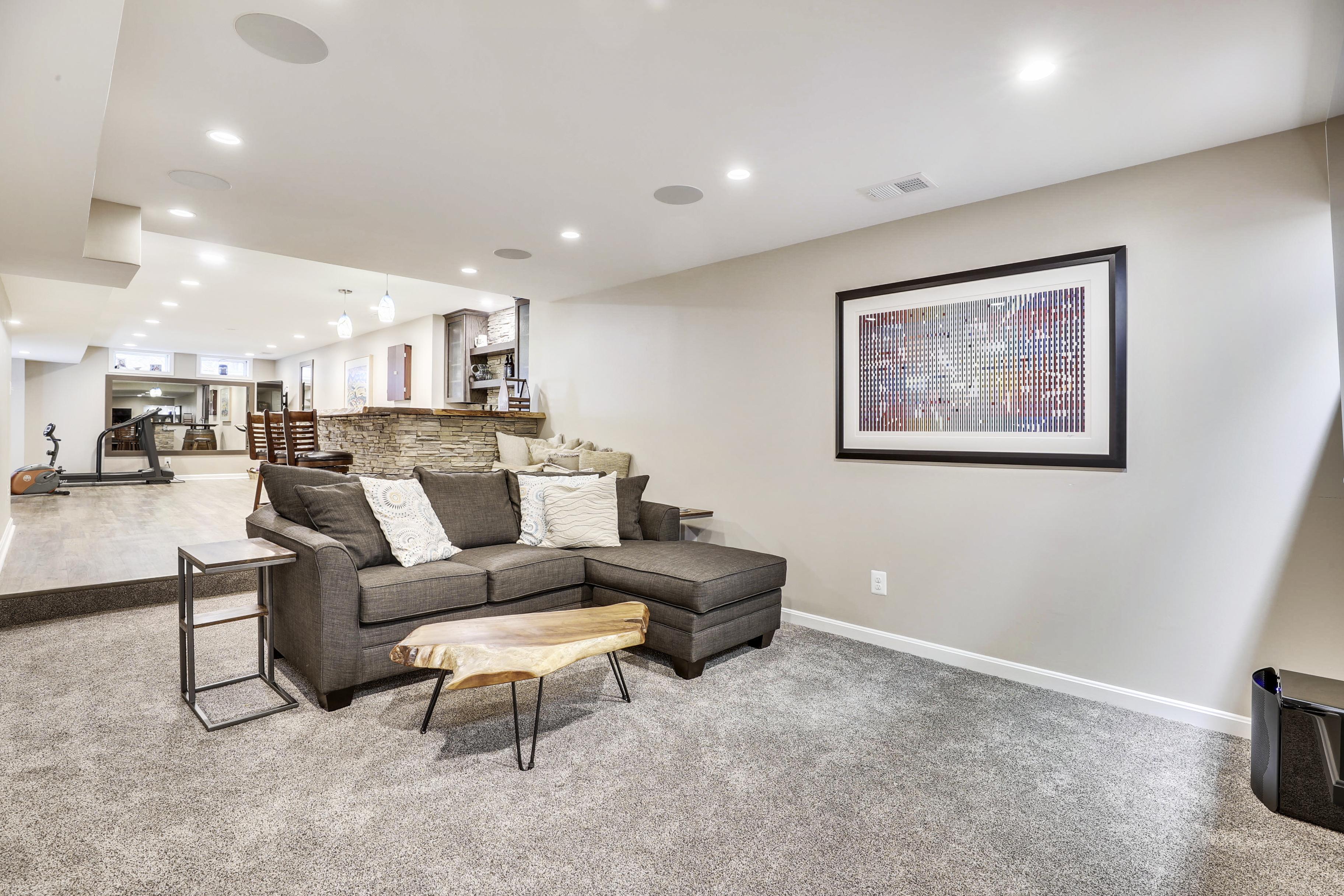 Lower Level-Recreation Room-12I1299