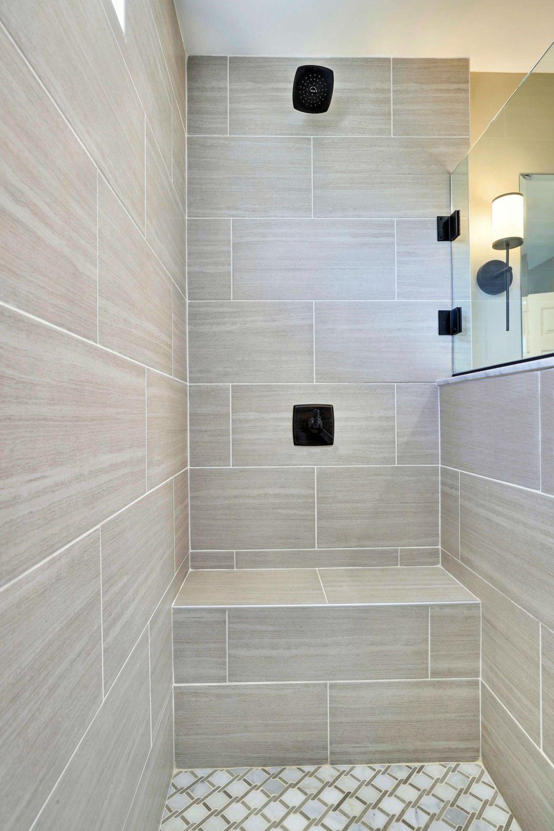 Main Level-Bathroom 1 - Shower Bench-12I2408