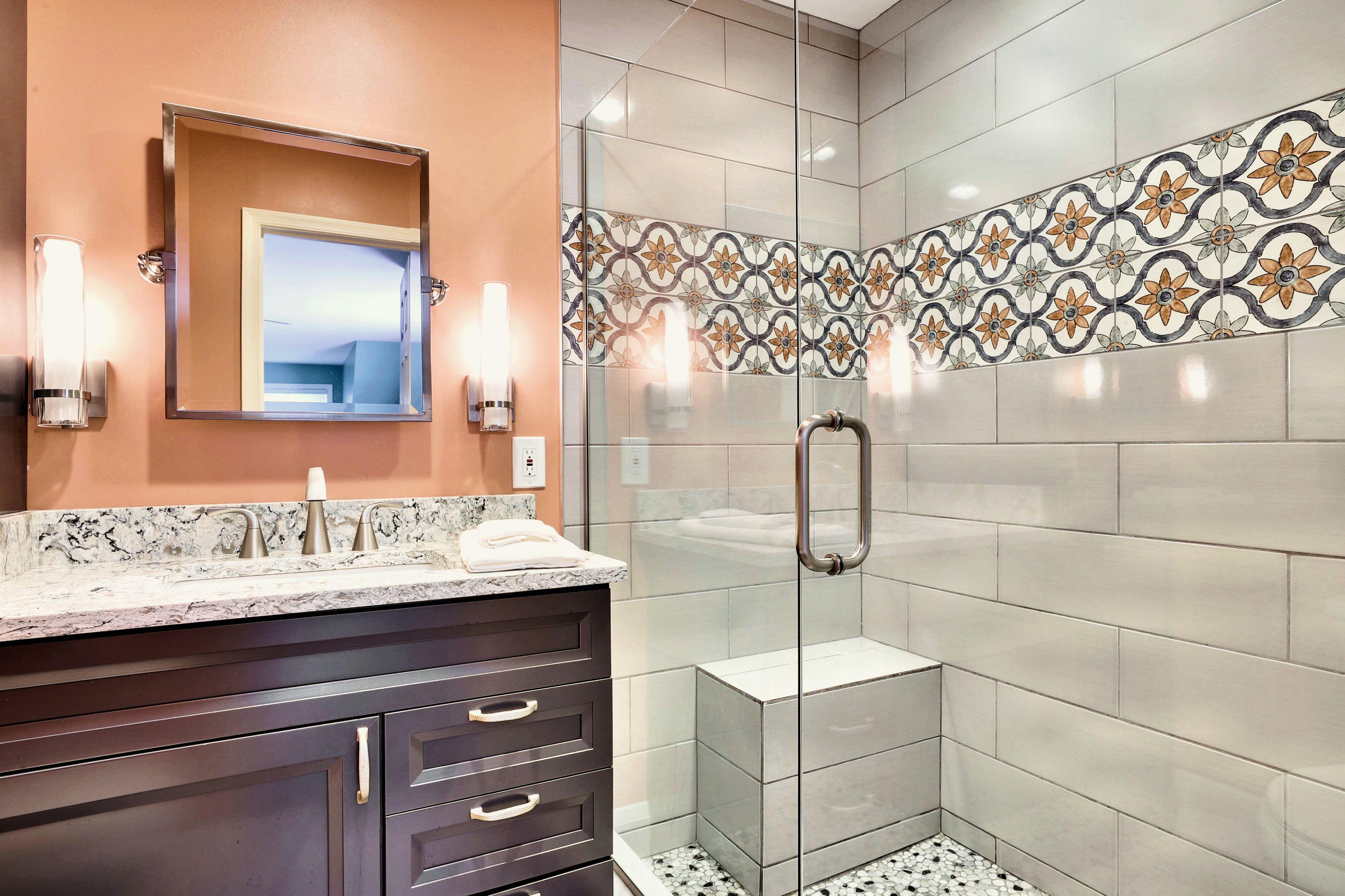 Main Level-Bathroom 2 - Vanity & Shower-12I2423